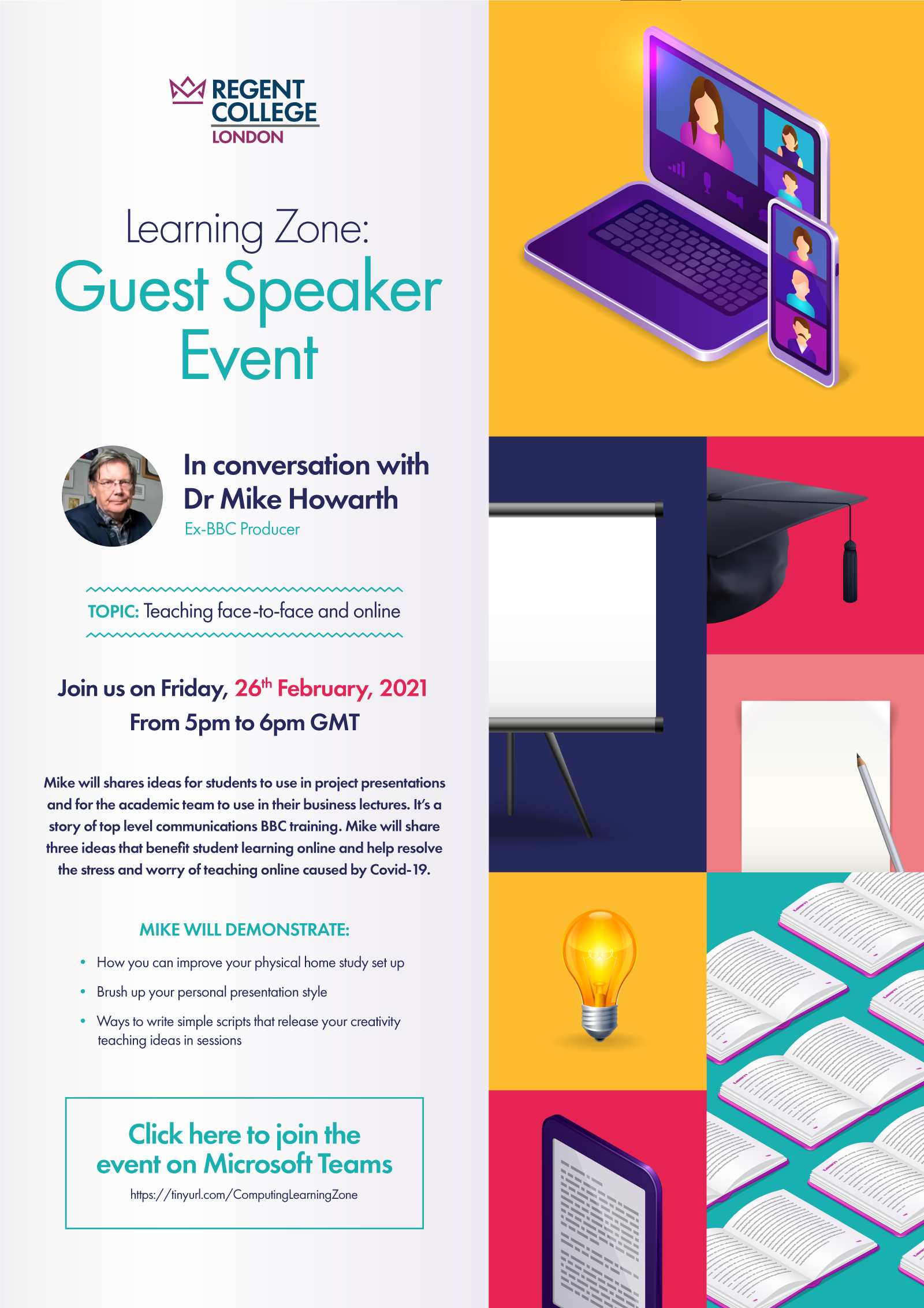Regent College London Learning-Zone Event - Mike Howarth (Guest Speaker)