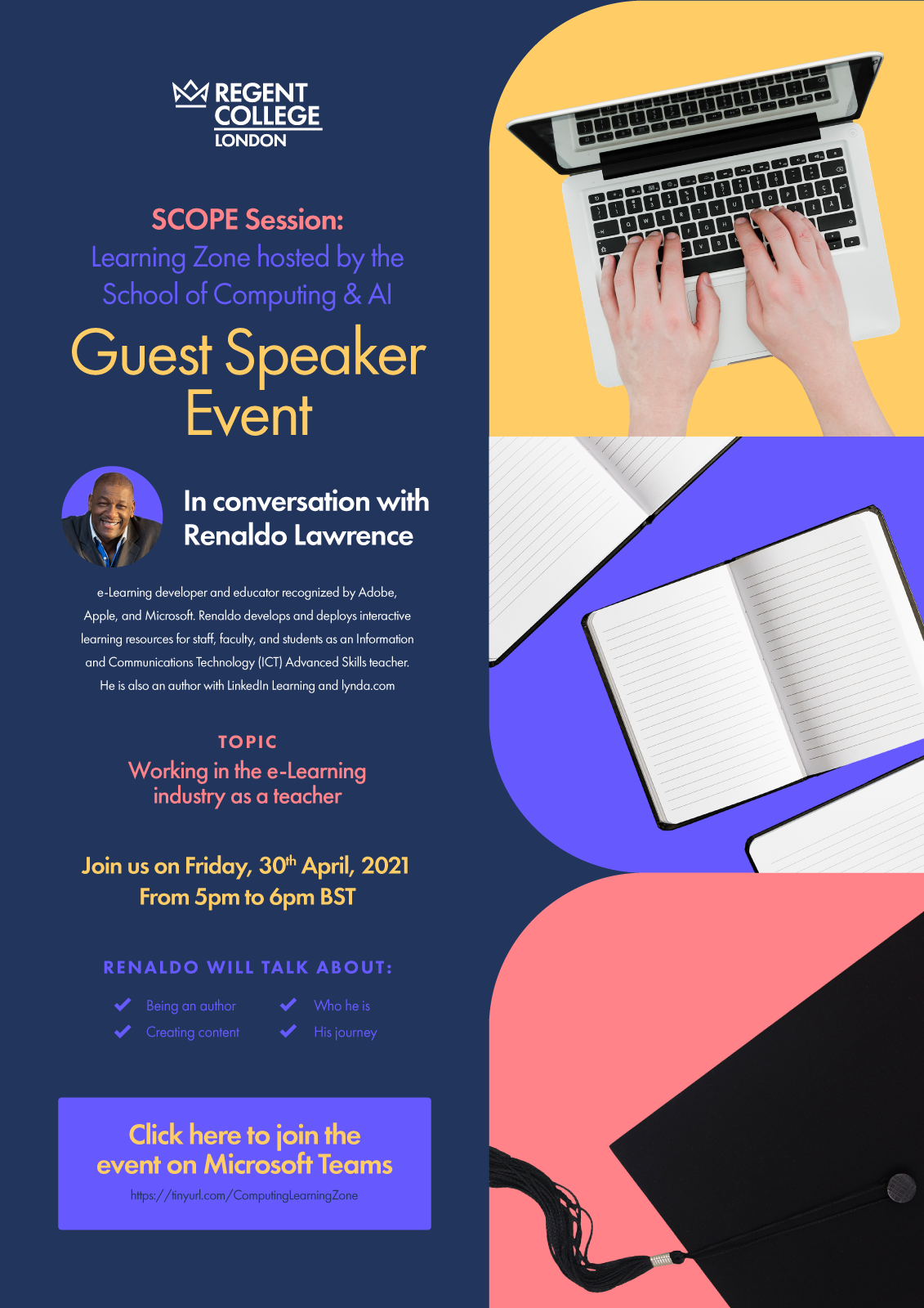 Learning Zone Scope Session by School of Computing and AI - Regent College London