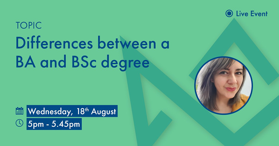 Difference between a BA and BSc Degree - Regent College London